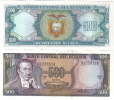 UNC Ecuador 500 Sucres P-124 (1984) Banknote - Equateur