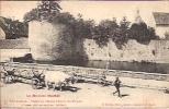 Saulieu 5: La Tour D'Auxois. Vestige De L'Ancien Château Des Evêques D'Autun 1917 ( Attelage) - Saulieu