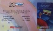 FOLDER TELECOM 20 ANNI SCHEDA TELEFONICA -C&C 2594 - Italia