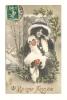 Cp, Nouvel An, Bonne Année, Voyagée 1913 - Anno Nuovo