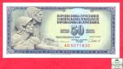 Yugoslavia 50 Dinara 1981 - UNC - Banknote / Yougoslavie - Billet - Papier Monnaie - Yougoslavie