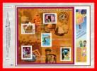 """CEF 1° Jour De 2001 N° 1533 """" UN SIECLE DE COMMUNICATION """" N° YT BF 35 ( NOUNOURS PUBLICITE MOBILE CD ...)+ Prix Dégres. - Blocs & Feuillets"""