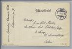 Heimat POLEN Gleiwitz 1916-06-29 Feldpostbrief An 3.Komp, 21.Armeekorps Osten - ....-1919 Provisional Government