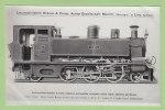 Locomotive - Tender KRAUSS, N° 7 Cabra. 2 Scans. Coll Pérève. - Treni
