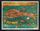 Vatican MNH Scott #519 Block Of 4 50l Map Of Venice - UNESCO Campaign To Save Venice - Vatican