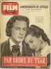 """FILM COMPLET  N° 483  - 1954 """" PAR ORDRE DU TZAR """" JACQUES FRANCOIS + """" L'AVENTURIER DE DEVILLE """" LUIS MARIANO - Cinéma"""