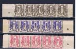 France:serie Chaine Brisee. - 1941-66 Escudos Y Blasones