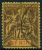 Benin (1894) N 44 (o) F Au Lieu De E - Unclassified