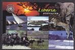PGL AK019 - LIBERIA Yv N°3927/30 ** ANIMAUX ANIMALS - Liberia