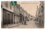 Savigny-sur-Braye, Rue Des Pépinières, 1908, Animée, Pharmacie, Trous De Punaises - France