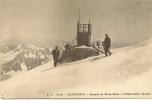 74 - CH587  N°:JJ6126 CHAMONIX OBSERVATOIRE JANSSEN AU SOMMET DU MONT BLANC - Chamonix-Mont-Blanc