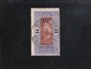 10F/ 5F VIOLET ET BRUN-JAUNE  OBLITéRé N° 83 YVERT ET TELLIER 1926-27 - Dahome (1899-1944)