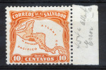 El SALVADOR Special 1924 - Sc.500a (ATLANT CO) MH (VF) - El Salvador