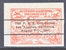 U.S. SOUTHERN CALIF. PRECANCEL CLUB EXPO. 1941   * - United States