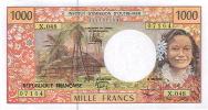 X.048 Nwallis Et Futuna Mata Utu Billet Monnaie IEOM 1000 Francs Signatures 2012 NEUF UNC - Otros