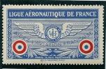 Vignette Ligue Aéronautique De France - Erinnophilie