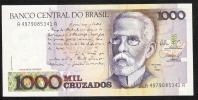 BRAZIL   P213b   1000 CRUZADOS  1988 Signature 26   UNC. - Brasile