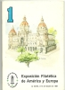 ESPAÑA - CATALOGO EXPOSICION FILATELICA DE AMERICA Y EUROPA . ESPAMER 87 - Briefmarken