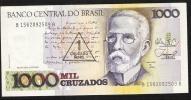 BRAZIL   P216b   1 CRUZADO NOVO / 1000 CRUZADOS   1987 Signature 26   UNC. - Brazil