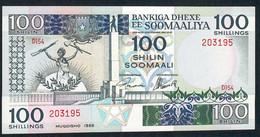 SOMALIA   P35c   100  SHILLINGS    1988     UNC. - Somalia