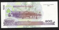 CAMBODIA   P53  100   RIELS     2001    UNC. - Cambodia