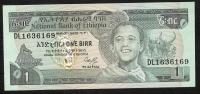 ETHIOPIA  P36   1  BIRR   1987     UNC. - Ethiopie