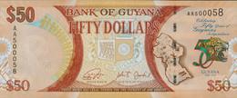 GUYANA - 5000 DOLLARS 2013/2014 UNC P New - Guyana