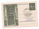 Lot 728: Entier Postal Oblitération De Propagande Metz - Elsass-Lothringen