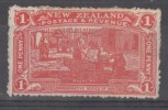 NEW ZEALAND  1906 CHRISTCHURCH EXPO  1 D  MH - 1855-1907 Crown Colony