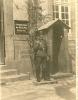 22 Photo DINAN Soldats Allemands + Guérite + Panneau  Caserne Quartier Duguesclin 1941 Occupation - Dinan