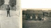 22 Photox2 DINAN Soldats Allemands  RAD Caserne Quartier Duguesclin 1941 Occupation - Dinan