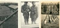22 Photox3 DINAN Soldats Allemands  RAD Caserne Quartier Duguesclin 1941 Occupation - Dinan