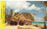 "Image Casino "" Tahiti 17 Pacifique Sud "" N° 90 / Paillote Bar-Restaurant Et Tahitienne  / IM 57/3 - Trade Cards"