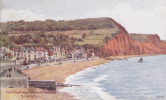 SIDMOUTH -THE FRONT FROM CONNAUGHT GARDENS - Other