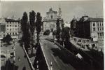 Ljubljana Tromostovje 1958 - Slovénie