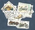 LOT DE 14 TIMBRES MOTOS - Motorbikes