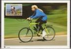 Nederland, 1993, 100 Years RAI, Bikes, Cycling, Maximum Card - Transportmiddelen