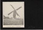 De Heetvelde Molen Te Tollembeek  1930  - Foto Uit Tijdschrift Formaat:   8x7cm - Galmaarden