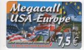 Megacall USA-Europe - 7,5 € - Francia