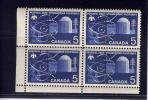 CANADA, 1966,  # 449, ATOMIC RESEARCH, Block LL MNH - Blocs-feuillets
