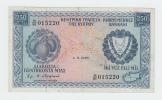 CYPRUS 250 Mills Banknote 1978 VF+ P 41c - Chipre