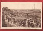 X0856 St-Aubin-sur-Mer, Vue De La Plage à Marée Haute,très Animé.Cachet 1932. - Saint Aubin