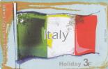 GREECE - European Union/Italy(flag), Amimex Prepaid Card 3 Euro, Tirage 500, 07/04, Used - Italy