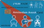 NETHERLANDS - Amsterdam Arena Card 10 Gulden/4.54 Euro, Used - Netherlands