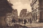 Cpa Nantes Après Les Bombardements Guerre 39-45, La Rue Du Calvaire Prise De La Place Du Bon Pasteur - Nantes