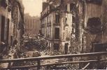 Cpa Nantes Après Les Bombardements Guerre 39-45, La Rue De L'arche Sèche Vers La Place Royale - Nantes