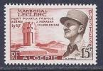 Algeria, Scott # 273 Mint Hinged Leclerc, 1956 - Algeria (1924-1962)