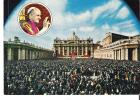 Roma Piazza S. Pietro  St. Peter's Square  Place St. Pierre With The Pope (inset) - Papes