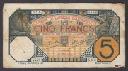 AFRIQUE OCCIDENTALE (French West Africa)  :  5 Francs - 1929  - P58g - 4449-556 - Andere - Afrika