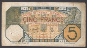 AFRIQUE OCCIDENTALE (French West Africa)  :  5 Francs - 1932  - P58g - 4910-761 - Altri – Africa